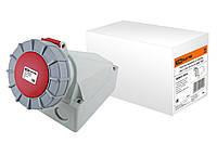 Розетка наружной установки IP67 125А 3Р+РЕ+N 380В TDM