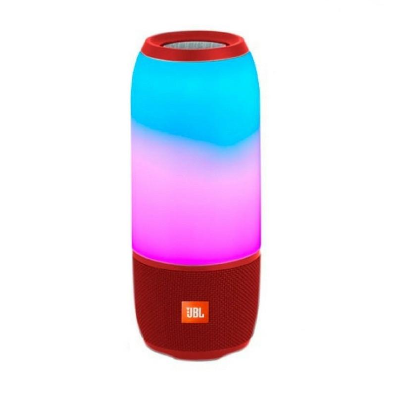 Портативная колонка JBL Pulse 3 Колонка со светомузыкой. Красная. Red