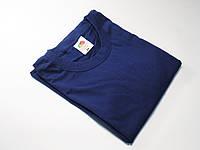 Классическая мужская футболка 61-036-0 XXL, Тёмно-синий