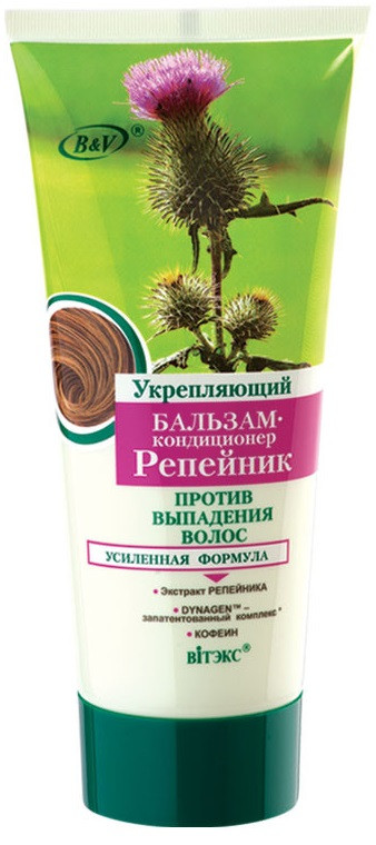 Укрепляющий БАЛЬЗАМ-кондиционер РЕПЕЙНИК против выпадения волос