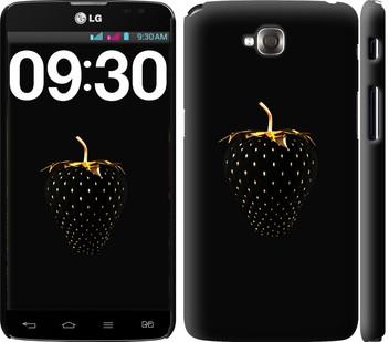 """Чехол на LG G Pro Lite Dual D686 Черная клубника """"3585c-440-19380"""""""