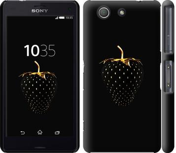 """Чехол на Sony Xperia Z3 Compact D5803 Черная клубника """"3585c-277-19380"""""""
