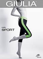 Спортивные капри из микрофибры GIULIA CAPRI SPORT Green 4L