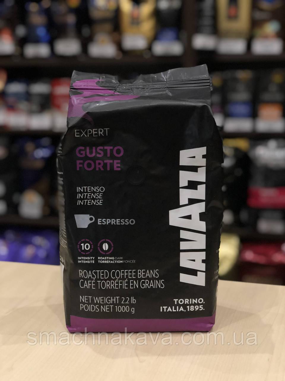Кофе в зернах Lavazza Gusto Forte