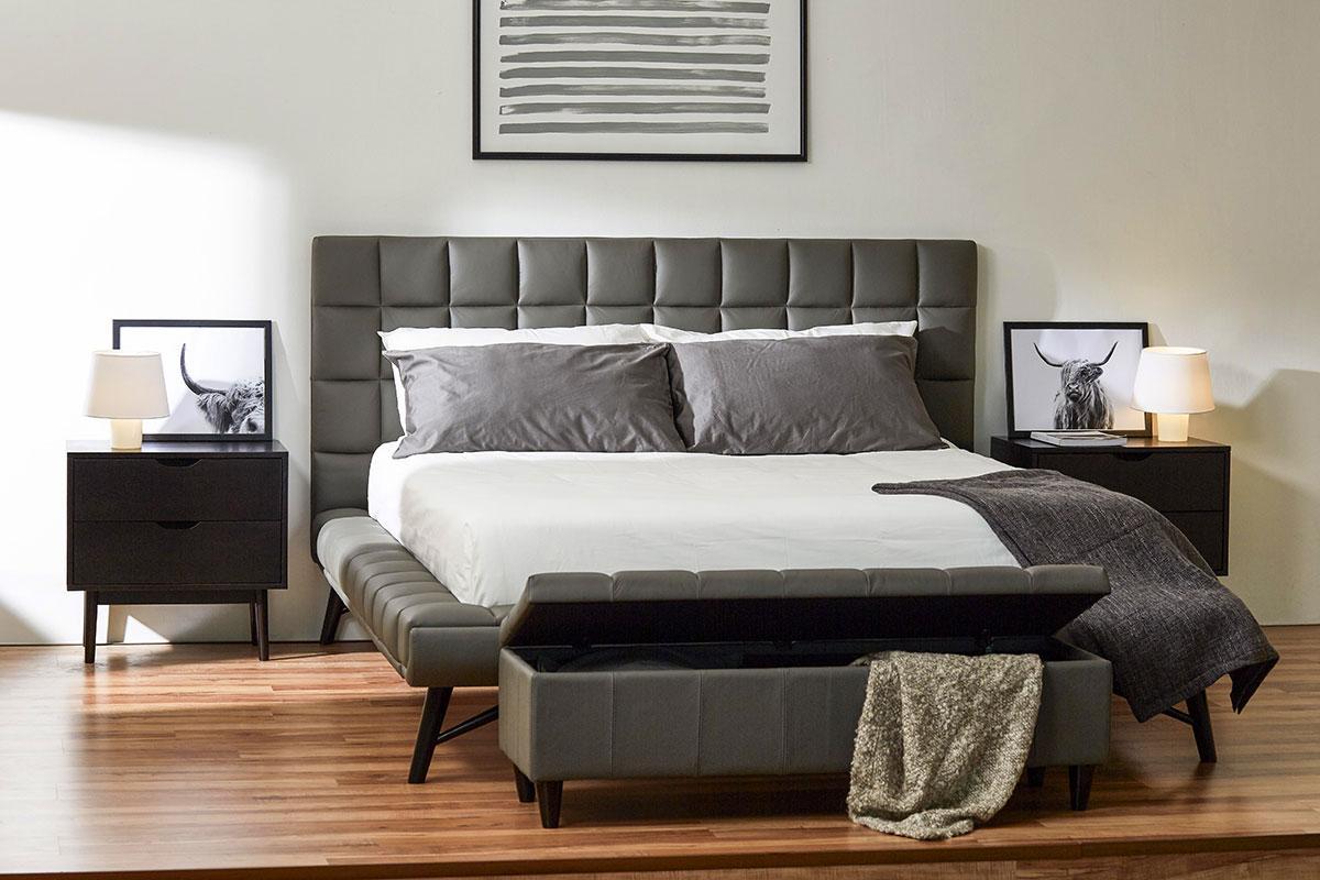 Кровать Наоми domini с мягким изголовьем
