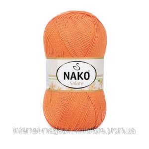 Пряжа Nako Solare Оранжевый