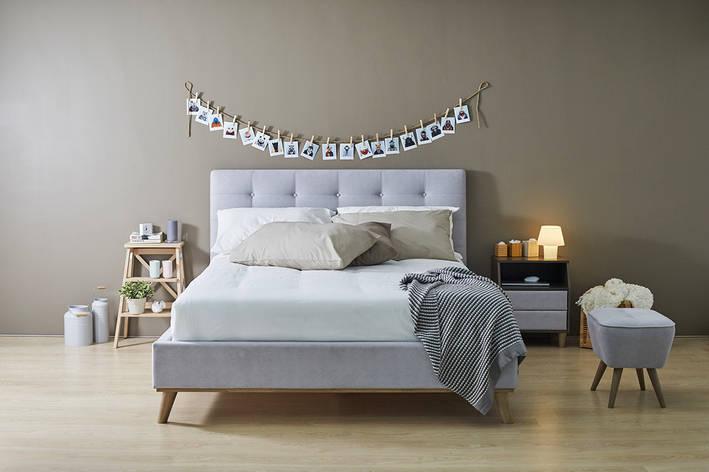 Кровать Ювента с мягким изголовьем domini, фото 2