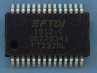 Интерфейс UART FTDI FT232RL SSOP28