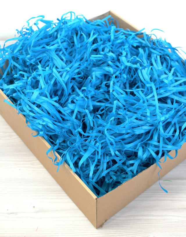 Наполнитель для подарка Тишью голубого цвета 10 грамм