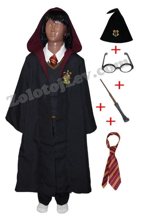 Костюм Гарри Поттера для ребенка 7-8 лет