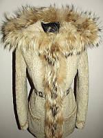 Кожаная куртка из пони дубленка boni pelle р.s