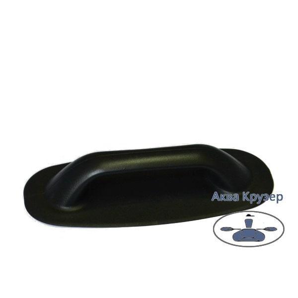 Ручки для надувных лодок ПВХ - литая, цвет черный