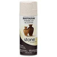 Покрытие с эффектом камня, цвет травертин, спрей