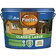 Pinotex Classic Lasur засіб для захисту дерева калюжниця 10л, фото 2