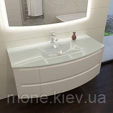 """Комплект мебели в ванную комнату """"Мадлен-2"""" (тумба+раковина+зеркало+пенал), фото 2"""