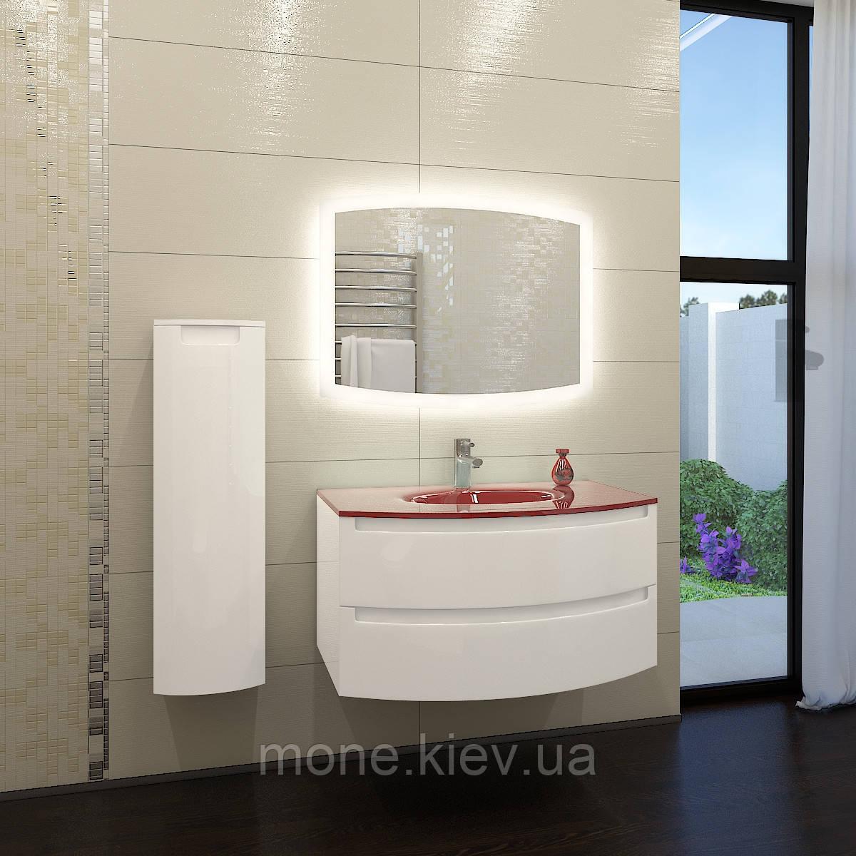 """Комплект мебели в ванную комнату """"Мадлен-2"""" (тумба+раковина+зеркало+пенал)"""