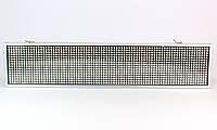 Бегущая Led строка в авто P5 White 10*40 с белыми диодами / Светодиодная вывеска для автомобиля
