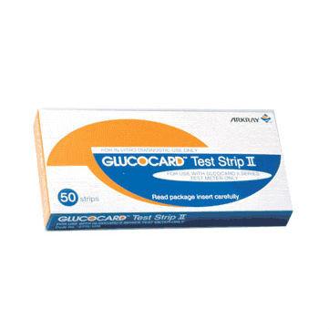 Тест полоски Glucocard II - Глюкокард 25 шт.