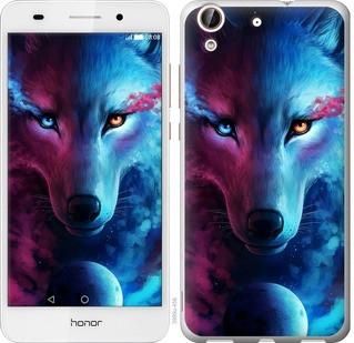 "Чехол на Huawei Honor 5A Арт-волк ""3999u-456-19380"""