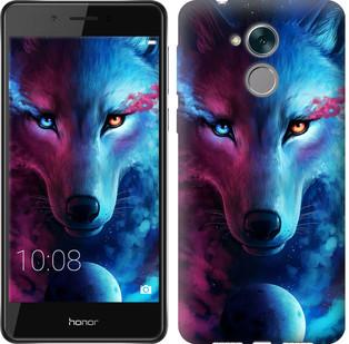 """Чехол на Huawei Honor 6C Pro Арт-волк """"3999c-1358-19380"""""""