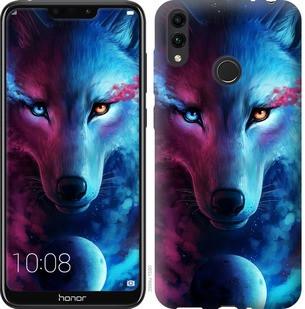 """Чехол на Huawei Honor 8C Арт-волк """"3999u-1590-19380"""""""