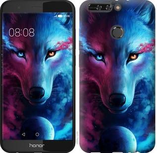 """Чехол на Huawei Honor V9 / Honor 8 Pro Арт-волк """"3999u-1246-19380"""""""
