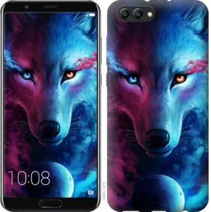 "Чехол на Huawei Honor V10 / View 10 Арт-волк ""3999u-1579-19380"""