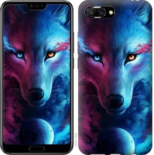 "Чехол на Huawei Honor 10 Арт-волк ""3999u-1496-19380"""