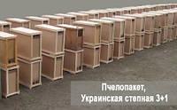 Пчелопакет, Украинская степная 3+1, фото 1