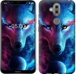 "Чехол на Nokia 7.1 Plus Арт-волк ""3999u-1606-19380"""