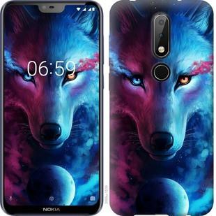 "Чехол на Nokia 6.1 Plus Арт-волк ""3999u-1539-19380"""