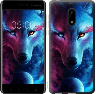 "Чехол на Nokia 6 Арт-волк ""3999c-898-19380"""