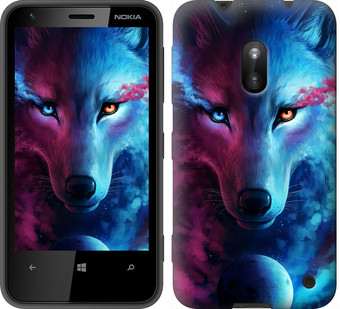 "Чехол на Nokia Lumia 620 Арт-волк ""3999u-249-19380"""