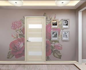 Дверь межкомнатная Лилу со стеклом