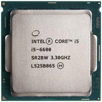 """Процессор Intel Core i5 6600 3.3GHz S.1151 Tray (BX80662I56600) """"Over-Stock"""" Б/У"""
