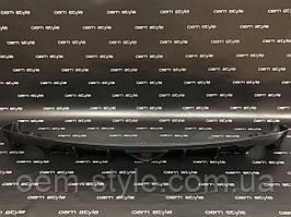 Диффузор заднего бампера со стопом Mazda 6 2013-2017