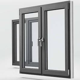 Цветные металлопластиковые окна