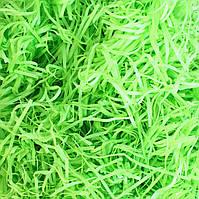 Наполнитель для подарка Тишью салатового цвета 10 грамм