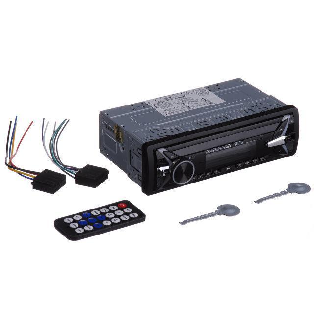 Автомагнитола Pioneer копия Car Audio SP-3250 USB SD не съемная панель еврофишка 1 дин новинка 2019