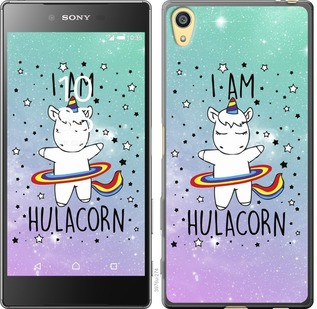 "Чехол на Sony Xperia Z5 E6633 I'm hulacorn ""3976c-274-19380"""