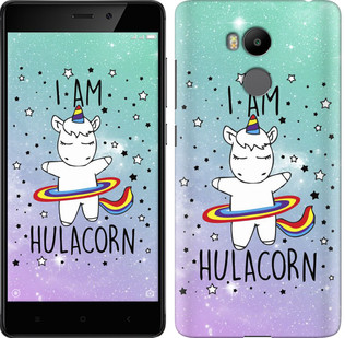 "Чехол на Xiaomi Redmi 4 pro I'm hulacorn ""3976c-438-19380"""