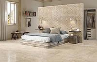 Плитка в гостиной и спальне - модная, практичная, элегантная.