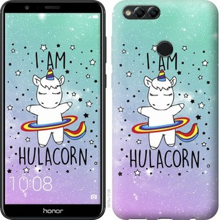 "Чехол на Huawei Honor 7X I'm hulacorn ""3976u-1139-19380"""