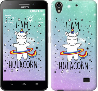"Чехол на Huawei Honor 4 Play I'm hulacorn ""3976u-213-19380"""