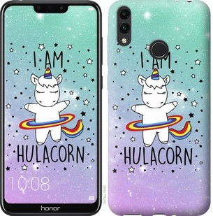 "Чехол на Huawei Honor 8C I'm hulacorn ""3976u-1590-19380"""
