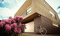 Ворота роллетные секционные Alutech, 3000х3000, профиль AG/77 с встроенным монтажом, фото 1