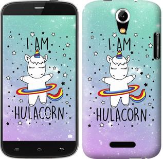 "Чехол на Doogee Y100X I'm hulacorn ""3976u-1109-19380"""