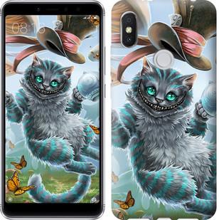 "Чехол на Xiaomi Redmi S2 Чеширский кот 2 ""3993u-1494-19380"""