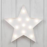 Ночники детские Led светильники звезда