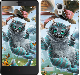 "Чехол на Xiaomi Redmi Note Чеширский кот 2 ""3993u-111-19380"""
